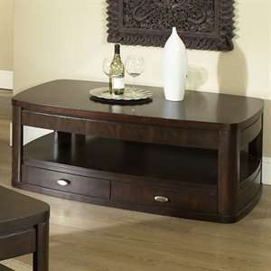 Isabelle IS200C   Cherry Coffee Table with Casters Furniture & Decor