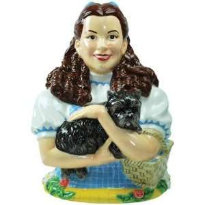 Wizard Of Oz Dorothy Holding Toto Ceramic Cookie Jar Kitchen & Dining