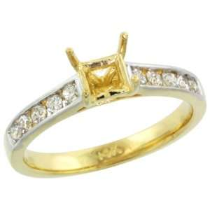 Cut) Diamond Ring w/ 0.30 Carat Brilliant Cut ( H I Color; SI1 Clarity