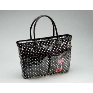Jetts Designer Black Polka Dot Diaper Bag Baby