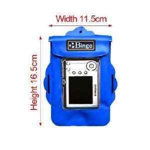 underwater digital camera case cover wp03 blue