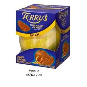 Terrys Orange Milk Chocolate (Pack of: Grocery & Gourmet Food