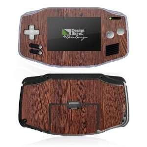 Design Skins for Nintendo Game Boy Advance   Nussbaum dunkel Design
