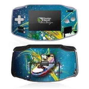 Skins for Nintendo Game Boy Advance   myShoe Design Folie Electronics