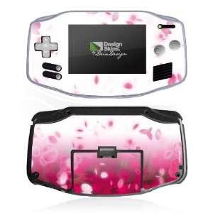 Design Skins for Nintendo Game Boy Advance   Blütenflug
