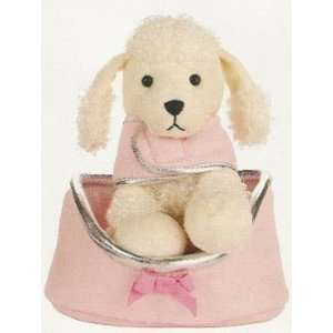 Pink POODLE stuffed DOG animal TOY kids childrens Toys