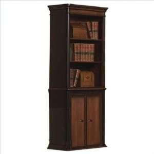 800513 Pergola Open Bookcase with Lower Cabinet Doors by Coaster