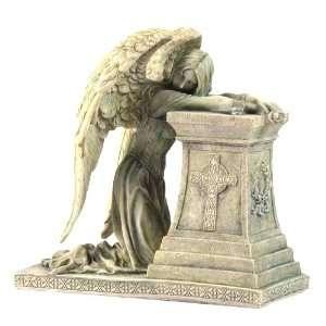 Gothic Weeping Angel Fantasy Sculpture: Home & Kitchen
