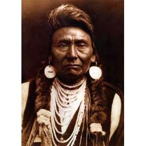 Chief Joseph Edward S. Curtis Native American Indian Art