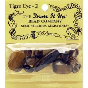 Dress It Up Semi Precious Gemstones   Tiger Eye Arts, Crafts & Sewing