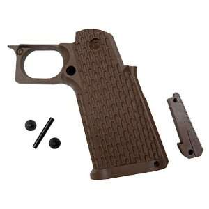 KJW KP06 Tactical Grip Set   Tan Airsoft Gas BB Gun Pistol