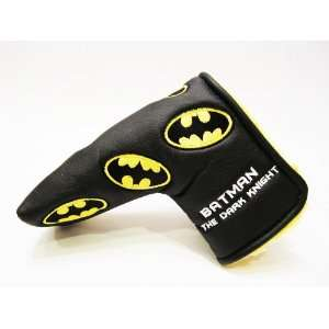 Batman Dark Knight Tour Prototype Putter Head Cover By House of