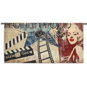 Hollywood Marilyn Monroe Forever Glam Tapestry Wall Hanging 53 x 26