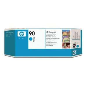 Hewlett Packard 90 Printhead With Cleaner 1 X Cyan For HP