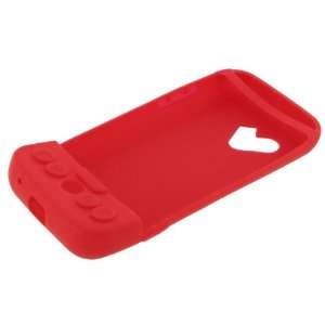 HTC T Mobile G1 Google Cell Phone Red Premium Silicone Skin Case Cover