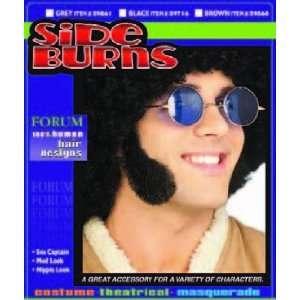 Side Burns Human Hair Brown Toys & Games