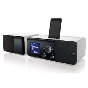 The Cue Radio Model r1 iPod iPhone Dock with Model s1