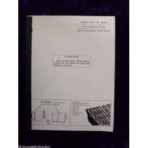 John Deere Power Unit 155 Series OEM Parts Manual: John Deere: Books