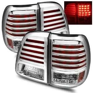 98 05 Toyota Land Cruiser Chrome LED Tail Lights