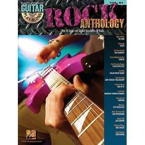 Rock Anthology Guitar Play Along Volume 81 Book/2 CD Pack