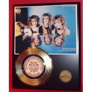 BANANARAMA GOLD RECORD LIMITED EDITION DISPLAY