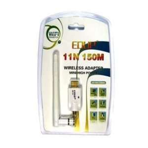 Power 802.11n 150m Wireless USB Adapter with D link 2dbi SMA Antenna