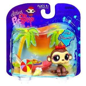 Littlest Pet Shop Exclusive Fanciest Single Pack Monkey