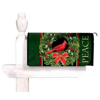 Magnetic Mailbox Cover Winter Pine Patio, Lawn & Garden