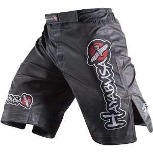 Hayabusa Official MMA Shiai Fight Shorts   Grey / Size 36: