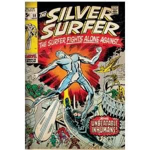 Marvel Comics Retro Silver Surfer Comic Book Cover #18