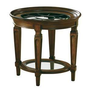 Hekman 7 2829 Metal Grille Tray End Table, Import Finishes