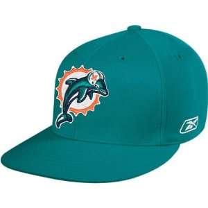 Reebok Miami Dolphins Aqua Sideline Flex Hat  Sports