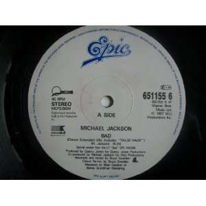MICHAEL JACKSON Bad 12 Michael Jackson Music