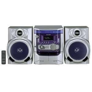 Sharp CD XP300 100 Watt Compact Stereo System Electronics