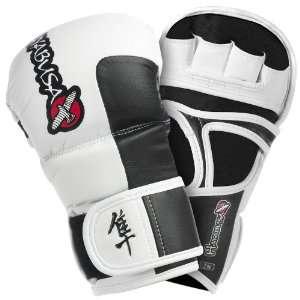 Hayabusa Official MMA Tokushu 7oz Hybrid Gloves   White: