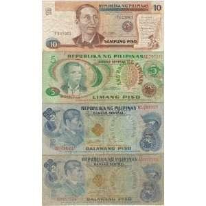 Collectible Money; Republika ng Pilipinas 10, 5, 2 PISO