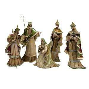 Holy Family and Wise Men Christmas Nativity Figure Set