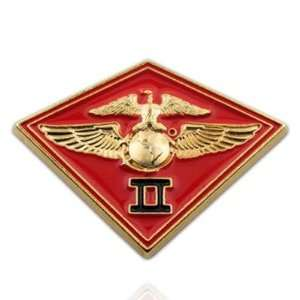 U.S. Marine Corps 002nd MC Wing Pin: Jewelry