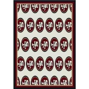 65in x 90in   N/A NFL Football Team Logo Rugs by Milliken