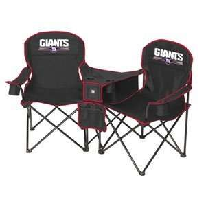 New York Giants NFL Deluxe Folding Conversation Arm Chair by Northpole
