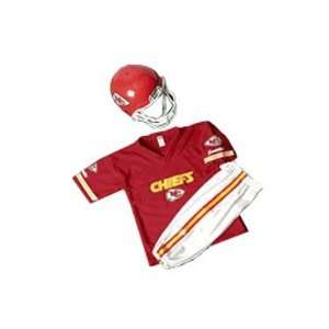 City Chiefs Youth NFL Team Helmet and Uniform Set