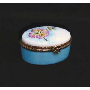 Orchid Flower Ltd Edition French Limoges Box: Home