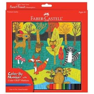 Alex Toys Paint by Number Jungle Adventures Toys & Games