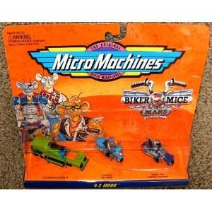 Micro Machines Biker Mice from Mars Modo #3 Collection  Toys & Games