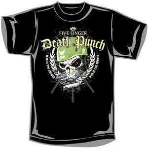 Five Finger Death Punch   T shirts   Band Clothing