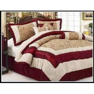 Image Result For Red And Gold Comforter Set King
