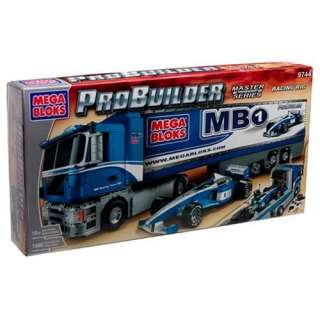 Mega Bloks Pro Builders Racing Rig  Toys & Games