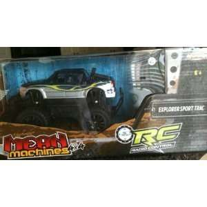 TRAC 4X4 RC REMOTE RADIO CONTROL CAR PICK UP TRUCK!: Everything Else