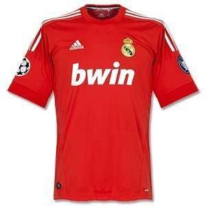 Real Madrid Champions League Jersey 11 12 respect +star ball +trophy