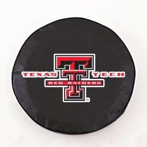 Texas Tech Red Raiders Black Tire Cover